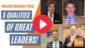 5 Qualities of Great Leaders